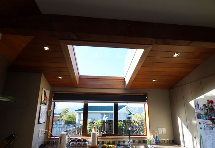 After skylight addition